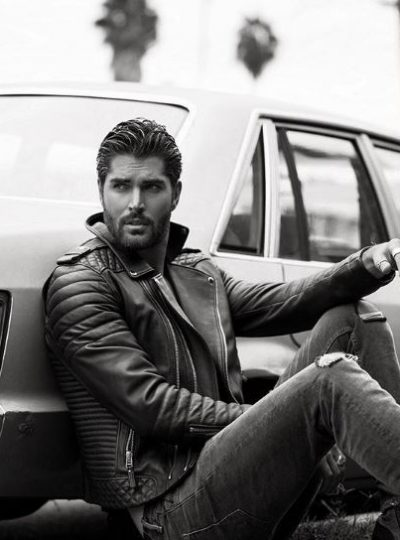 handsome hunk Nick Bateman