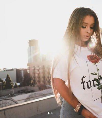 Model, social media personality Danielle Cohn