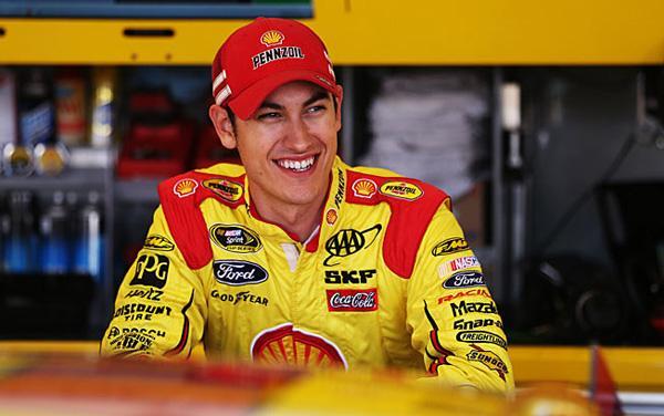 Joey Logano stock car racing driver