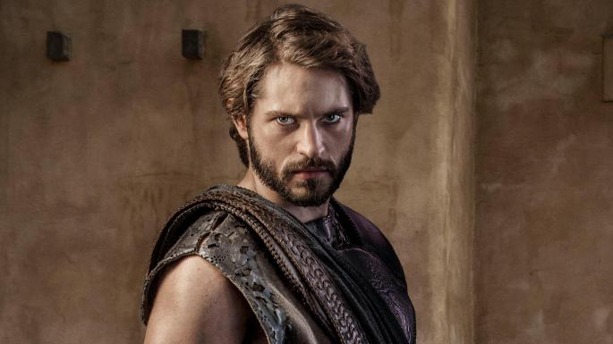 Louis Hunter as Paris in Troy: Fall of a City